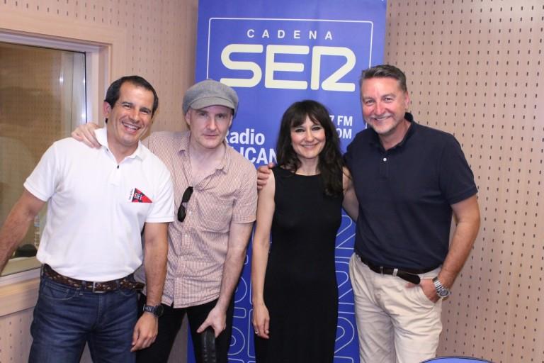 Entrevista a Amaral en Radio Alicante SER.